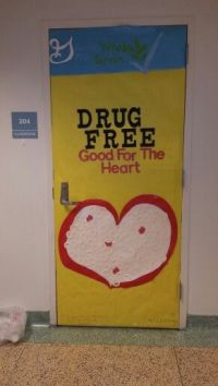 17 Best images about Drug free class door decoration on ...