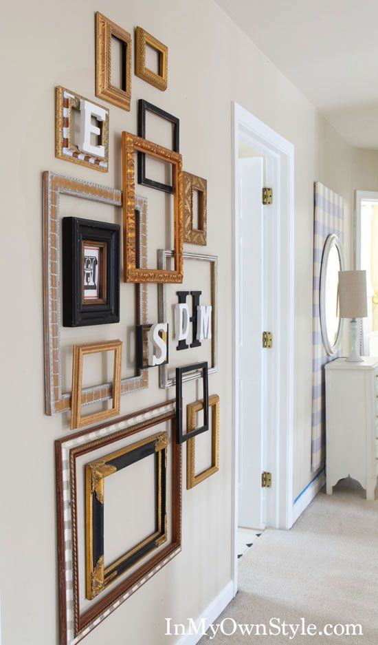 25 Best Ideas About Frame Wall Decor On Pinterest Wall Decor