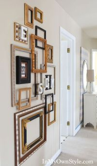 25+ best ideas about Frame wall decor on Pinterest | Wall ...