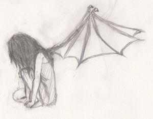 crying drawing sad easy sitting drawings sketch down pencil pretty depression anime sketches deviantart google cry mermaid toby liars بحث
