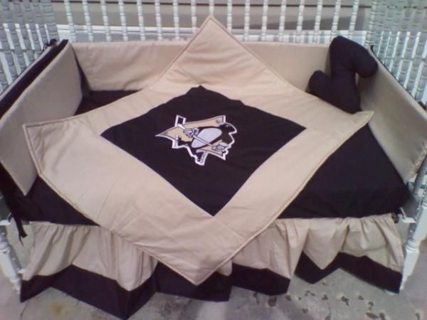 Pittsburgh Penguins Crib Bedding Love It I Could Totally