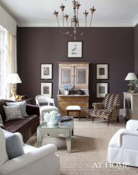 Wall colour ideas, dark mocha | living designs | Pinterest ...