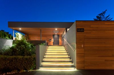 Beautiful Modern Lines - Contemporary House in West ...
