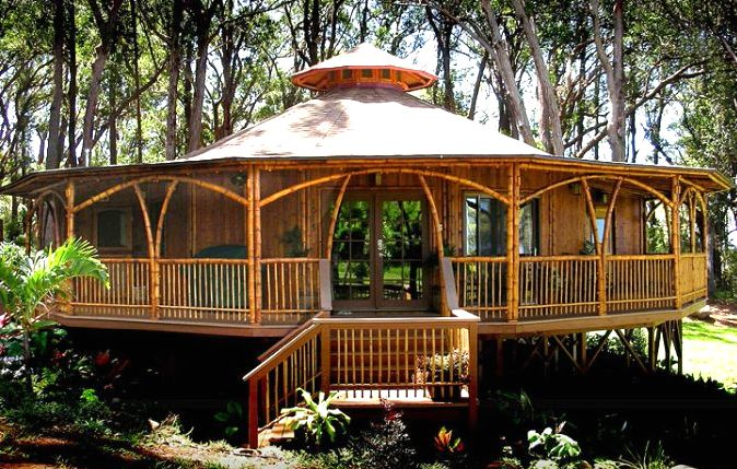 Bamboo House Nature Living Pinterest The Guest House Ideas