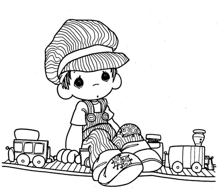 17 Best images about Coloring Pages: Precious Moments on