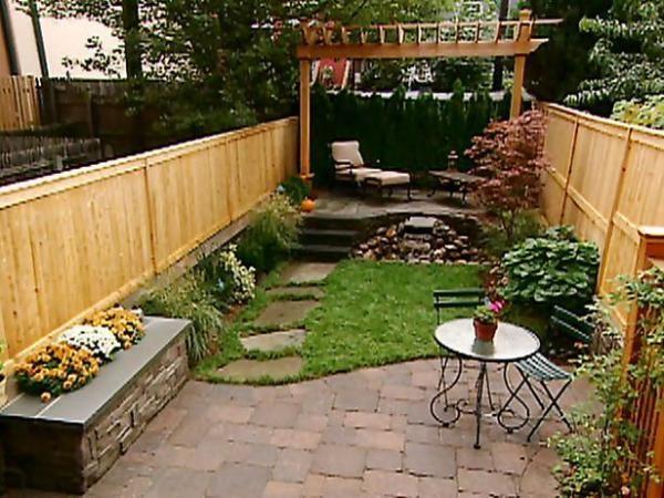 ideas small backyards