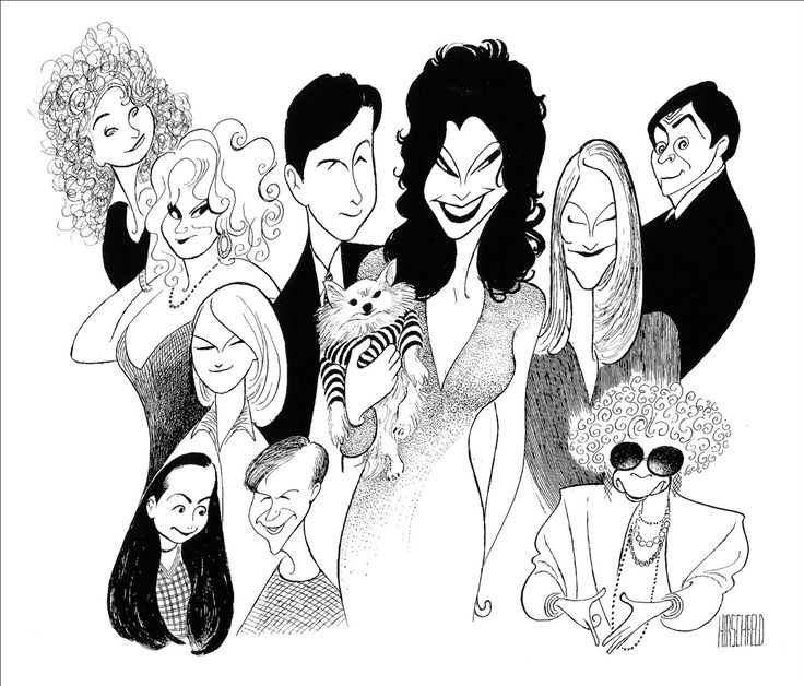 1000+ images about Al Hirschfeld's Caricatures on Pinterest