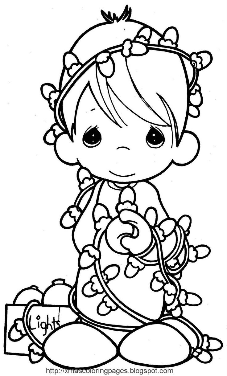 1000+ images about Christmas coloring pages on Pinterest
