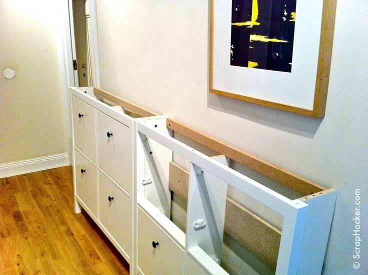 Ikea Hemnes Shoe Cabinet Hack DIY Pinterest Stains