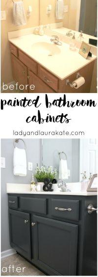 25+ best White bathroom cabinets ideas on Pinterest