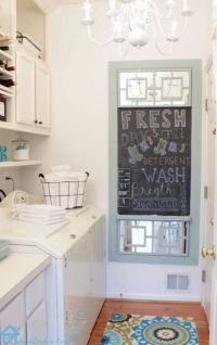 Lovely laundry room   Shabby chic   Pinterest   Laundry ...