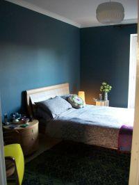 Steel Blue Living Room