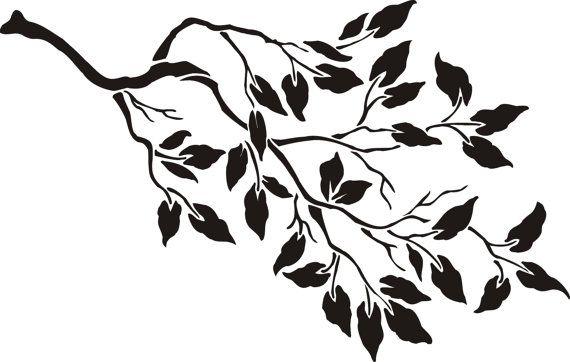 25+ best ideas about Tree wall stencils on Pinterest
