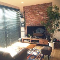 Beach House Living Room Furniture Ideas Chicago Crash Project/男前インテリア/観葉植物/no Green No Life…などのインテリア ...