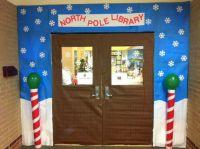 CRJH Library December door decor contest entry - Welcome ...