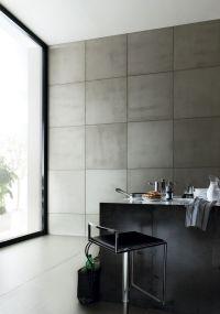Indoor smooth concrete wall tiles CIMENTO LISCIO   Cement ...