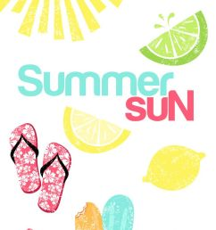 free summer clipart by fabnfree http blog luvly co [ 736 x 1393 Pixel ]
