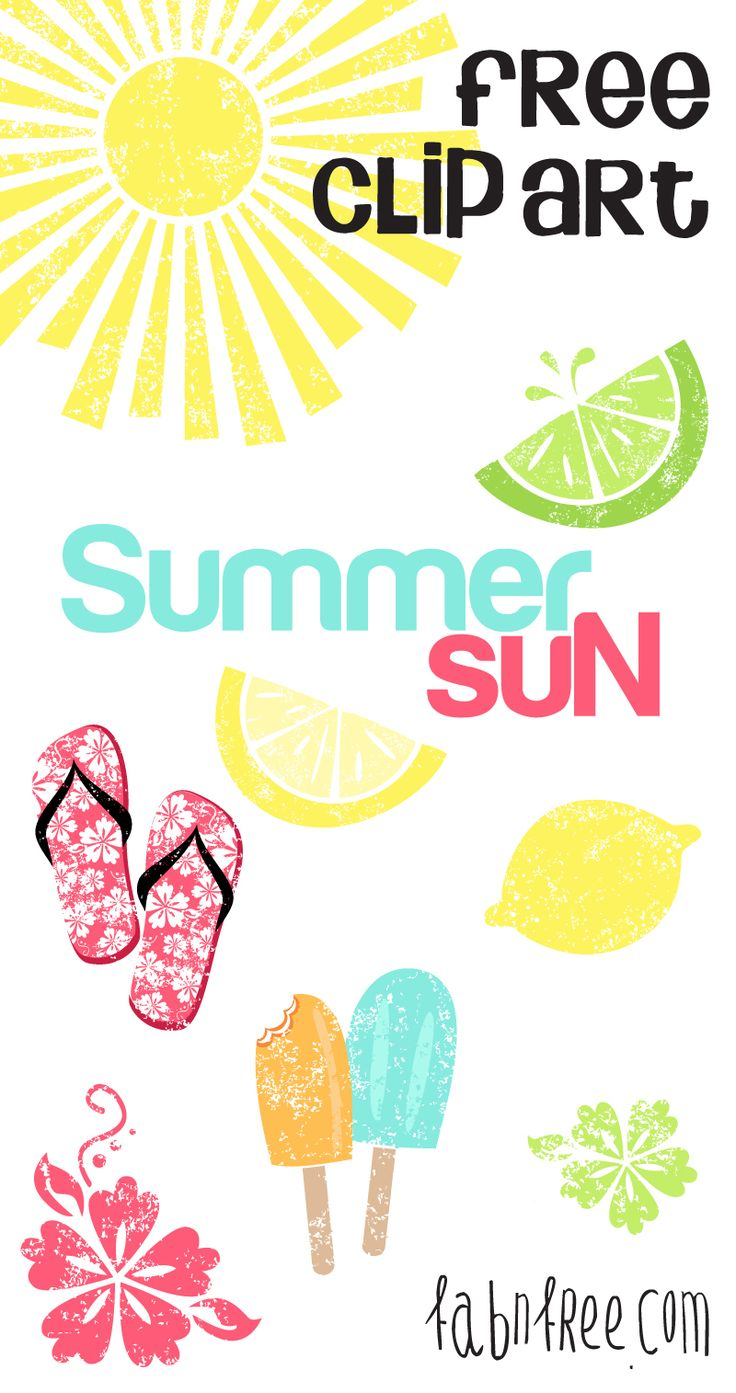 medium resolution of free summer clipart by fabnfree http blog luvly co
