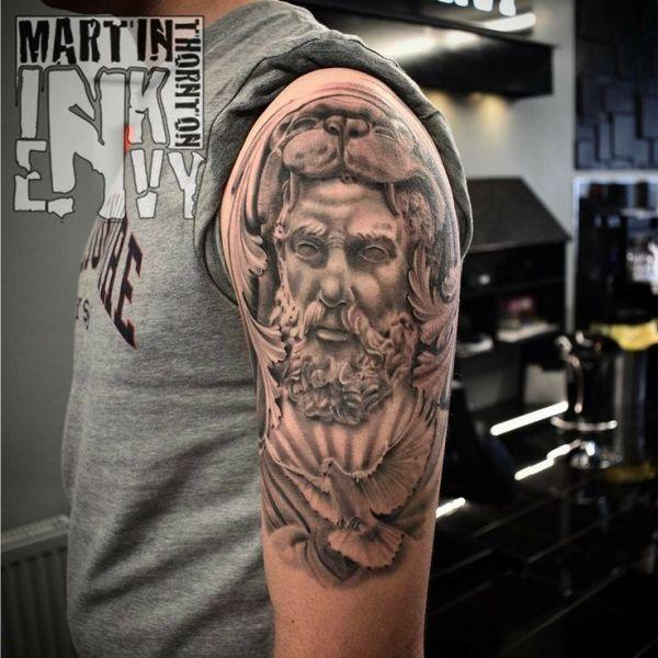 20 Greek God Matching Tattoos Ideas And Designs