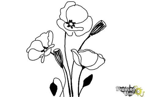 17 Best ideas about Simple Flower Drawing on Pinterest