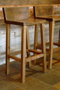 Wooden Bar Stool With Back - WoodWorking Projects & Plans