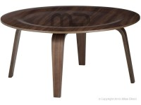 Plywood Coffee Table Eames Reproduction Walnut 1 | Retro ...