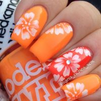 25+ best ideas about Orange nail art on Pinterest ...