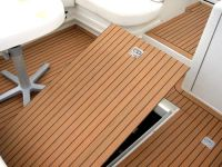 #eco #teak synthetic wpc boat deck | PVC | Synthetic Teak ...