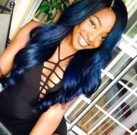 17 Best images about navy blue hair color on Pinterest ...