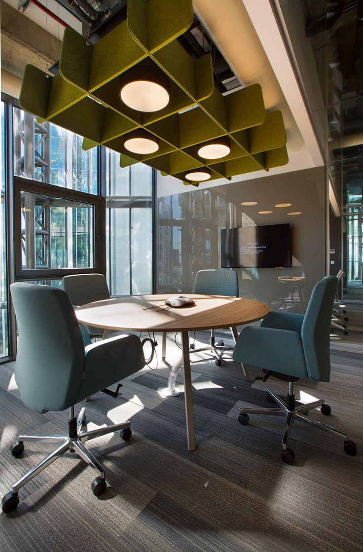 Meeting Pop Up Area Lighting Ceiling Deloitte Turkey