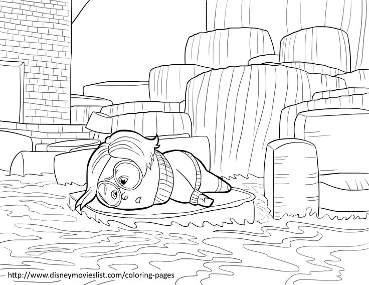 Disney's Inside Out Coloring Pages Sheet, Free Disney