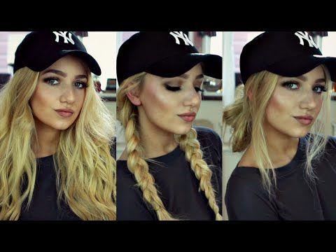 25 Best Ideas About Hat Hairstyles On Pinterest Blonde Braids