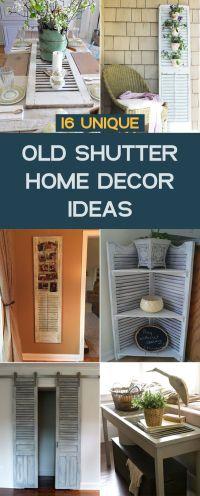 17 Best ideas about Old Shutters Decor on Pinterest ...