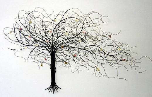 """September Tree"" Metal Wall Art By Suat Gurtan :: I've"