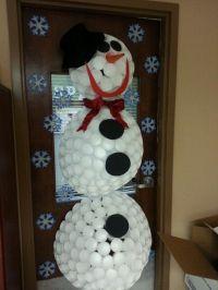 Christmas Door Decoration Ideas For Nursing Home