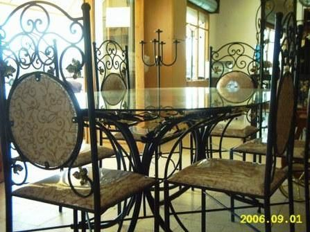 Black Wrought Iron Table And Chair Sets Iron Dining