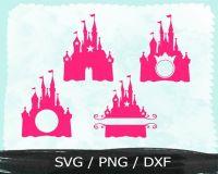 Princess Castle Svg , Vinyl cut files , Cricut Design spac ...