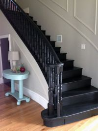 25+ best ideas about Black Painted Stairs on Pinterest ...