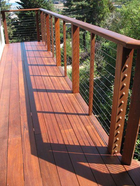backyard kitchen ideas white corner cabinet cable rail | deck & patio pinterest cable, decks ...