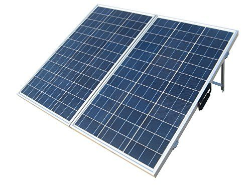 Off Grid Solar Power System On An Rv Recreational Vehicle Or