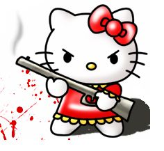 131 best images about Angry Hello Kitty on Pinterest