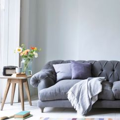 Gray Linen Chesterfield Sofa Plum Sofas 17 Best Ideas About Grey Decor On Pinterest | ...