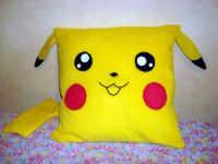 Pikachu Pillow | DIY Pokemon | Pinterest | Pikachu and Pillows