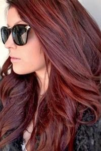 Dark Brown Red Hair Color 2014 | sheila | Pinterest | Red ...