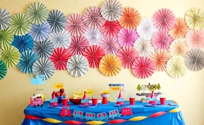 Diy Party Decorations Kids Parties Pinterest
