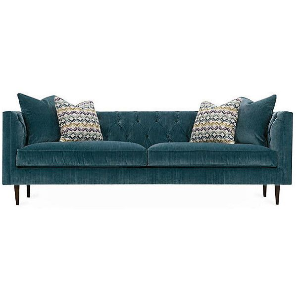 17 Best ideas about Teal Sofa on Pinterest