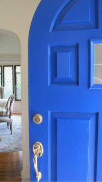 1000+ ideas about Blue Front Doors on Pinterest | Beige ...