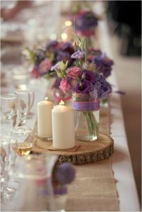 25+ Best Ideas about Rustic Purple Wedding on Pinterest