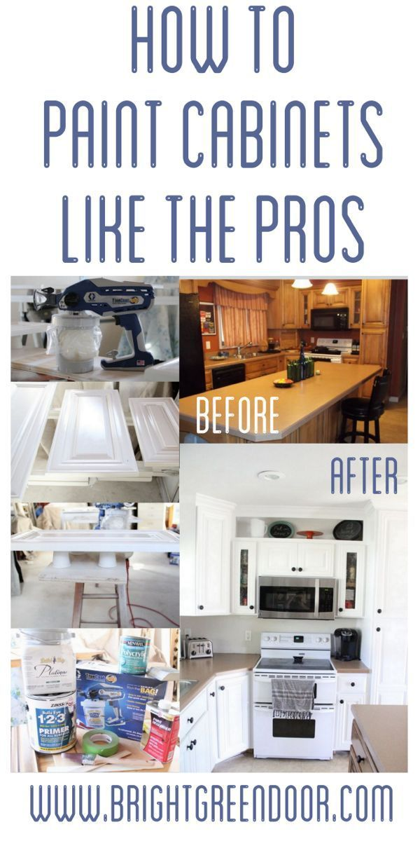 How to Spray Paint Cabinets Like the Pros  How to spray