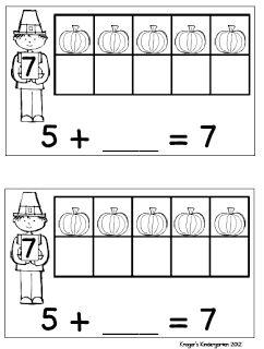25+ best ideas about Thanksgiving math on Pinterest